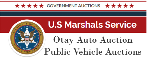 U.S. Marshal Vehicle Auction